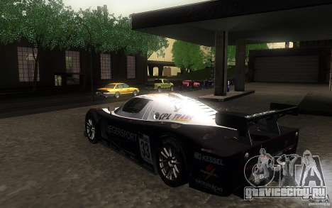 Maserati MC12 GT1 для GTA San Andreas вид справа