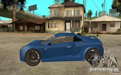Mastretta MXT v1.1 для GTA San Andreas вид слева