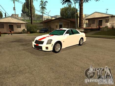 Cadillac CTS 2003 Tunable для GTA San Andreas вид изнутри