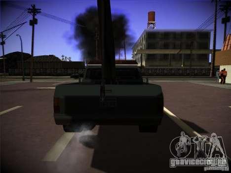 Sadler эвакуатор для GTA San Andreas вид сзади слева