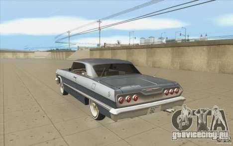 Voodoo для GTA San Andreas вид сзади слева