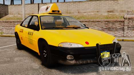 Dodge Intrepid 1993 Taxi для GTA 4