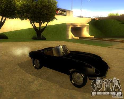 Jaguar E-type 1963 для GTA San Andreas