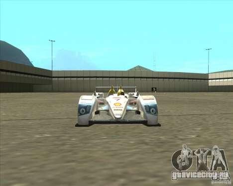 Audi R10 TDI для GTA San Andreas вид справа