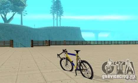 Racing Cycle Turmac Legnano для GTA San Andreas вид сзади слева