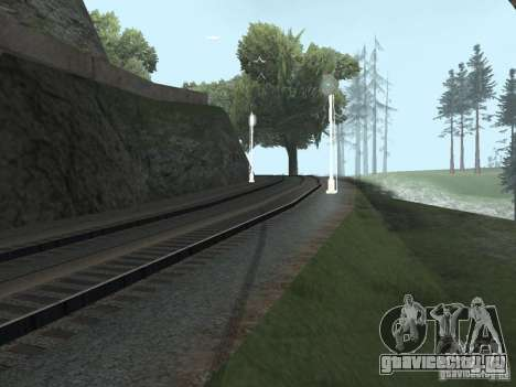 Железнодорожные светофоры 2 для GTA San Andreas третий скриншот
