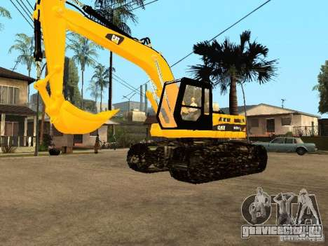 Экскаватор CAT для GTA San Andreas