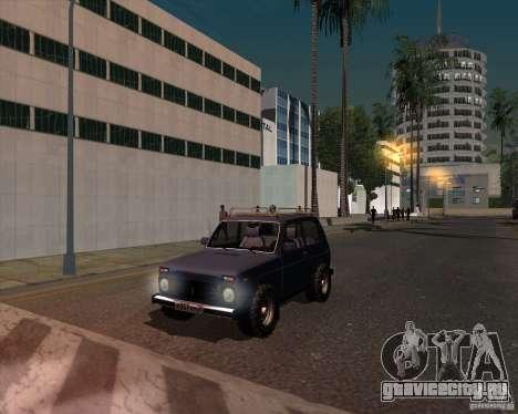 ВАЗ 21213 Offroad для GTA San Andreas вид справа