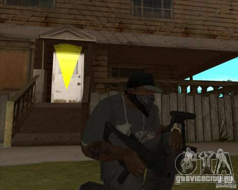 Resident Evil 4 weapon pack для GTA San Andreas третий скриншот