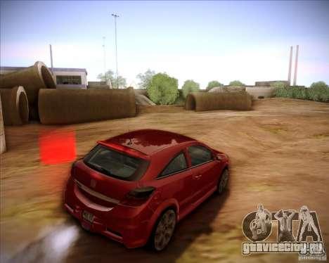 Opel Astra Saturn для GTA San Andreas вид слева