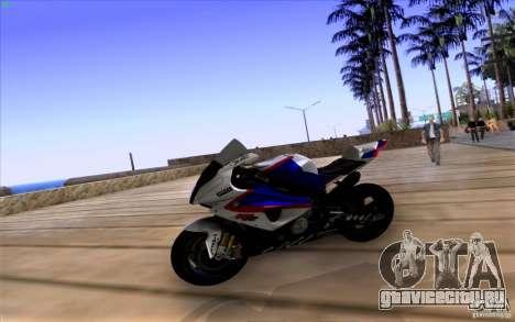 BMW S1000 RR для GTA San Andreas вид справа
