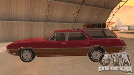Oldsmobile Vista Cruiser 1972 для GTA San Andreas вид слева