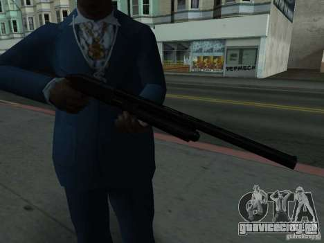 Remington 870 Action Express для GTA San Andreas третий скриншот
