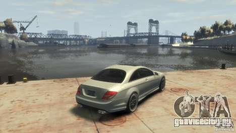 Mercedes-Benz CL 65 AMG 2010 для GTA 4