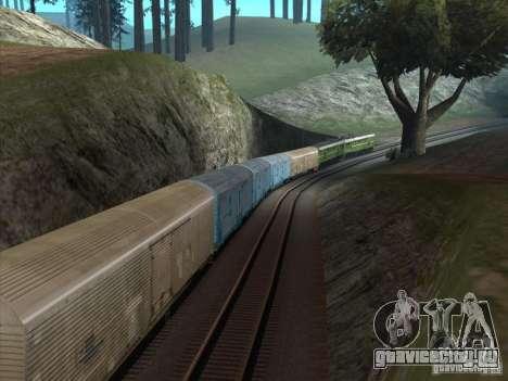 2ТЭ10У-0238 для GTA San Andreas вид сзади