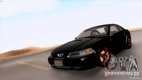 Ford Mustang GT 1999 для GTA San Andreas колёса