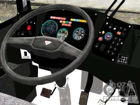 НефАЗ 5299-10-15 для GTA 4 вид снизу