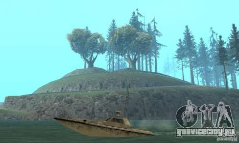 GTA III Ghost для GTA San Andreas вид сзади