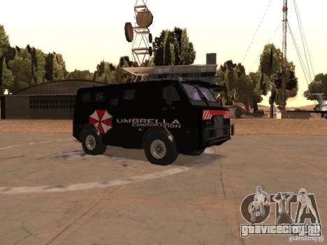 AM 7.0 Umbrella Corporation для GTA San Andreas вид изнутри