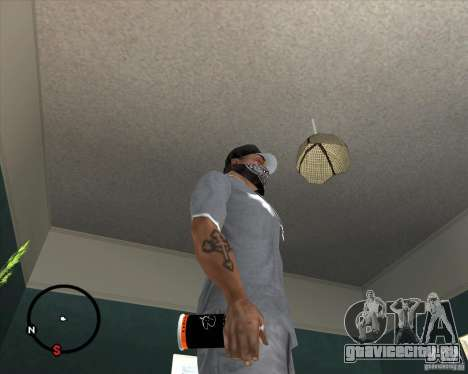 Баллончик Montana для GTA San Andreas второй скриншот
