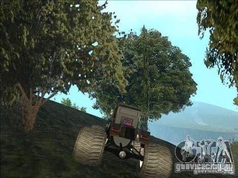 Monsterous Truck для GTA San Andreas вид сзади слева