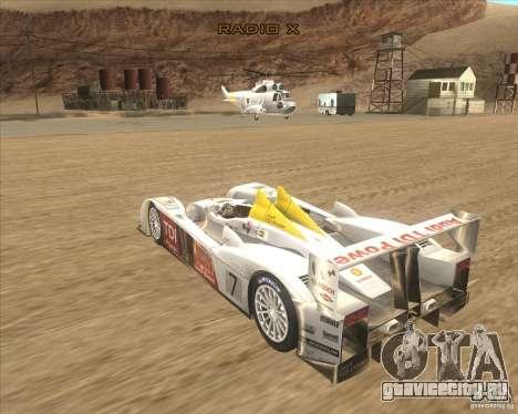 Audi R10 TDI для GTA San Andreas вид слева