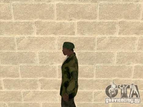 Камуфляжная куртка для GTA San Andreas третий скриншот
