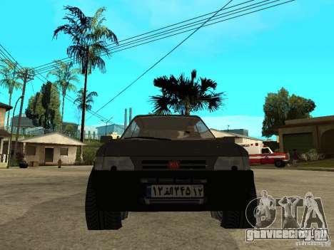 Kia Pride для GTA San Andreas вид справа