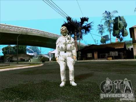 Morpeh в электронном камуфляже для GTA San Andreas