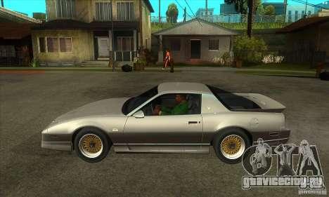 Pontiac Trans AM 1987 для GTA San Andreas