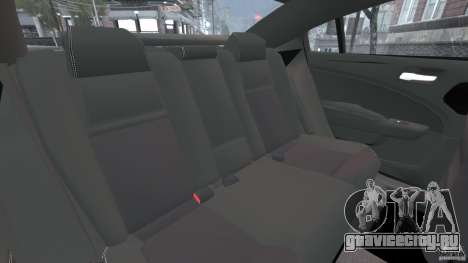 Dodge Charger Unmarked Police 2012 [ELS] для GTA 4 вид сбоку