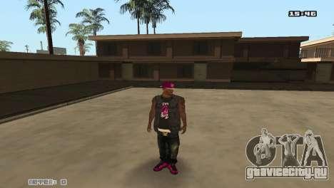 Ballas Skin Pack для GTA San Andreas третий скриншот