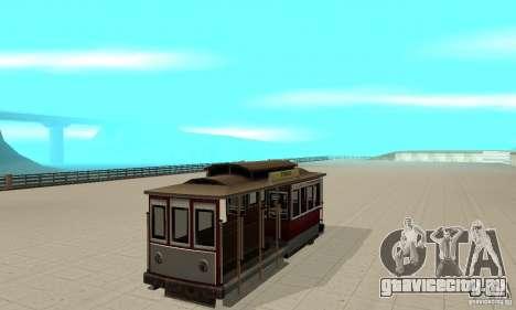 Tram для GTA San Andreas вид слева