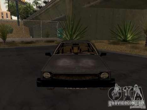 Авто 3 из CoD4-MW v2 для GTA San Andreas вид сзади слева
