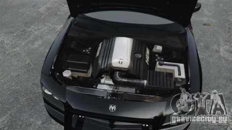 Dodge Charger RT Hemi FBI 2007 для GTA 4 вид справа