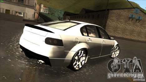 Holden HSV W427 для GTA San Andreas вид сзади слева