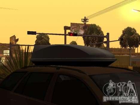 Skoda Octavia для GTA San Andreas вид снизу