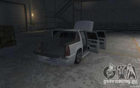 Chevrolet Avalanche v1.0 для GTA 4 вид снизу