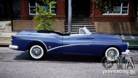 Buick Skylark Convertible 1953 v1.0 для GTA 4 вид сверху