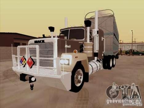 Mack RoadTrain для GTA San Andreas