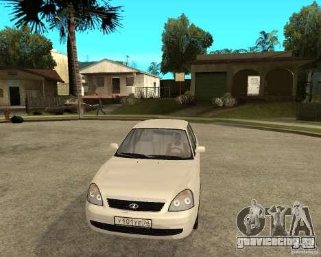 ВАЗ 2170 Лада Приора для GTA San Andreas вид сзади