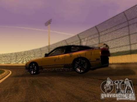 Nissan 240sx Street Drift для GTA San Andreas вид слева