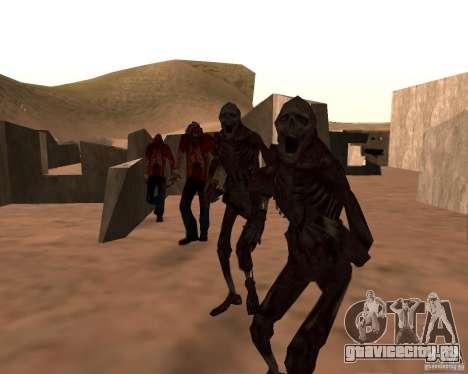 Zombie Half life 2 для GTA San Andreas пятый скриншот