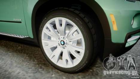BMW X5 Experience Version 2009 Wheels 223M для GTA 4 вид снизу