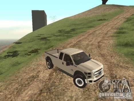 Ford Super Duty F-550 для GTA San Andreas вид слева