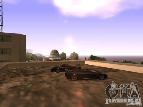 Koenigsegg CCXR Edition для GTA San Andreas двигатель