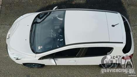 Peugeot 308 GTi 2011 v1.1 для GTA 4 вид справа