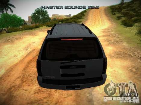 Chevrolet Tahoe HD Rimz для GTA San Andreas вид сбоку