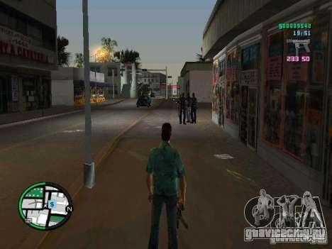 HUD из GTA IV 2.2 RC1 для GTA Vice City