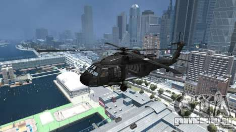 Sikorsky UH-60 Black Hawk для GTA 4